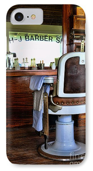 Barber - The Barber Shop IPhone Case by Paul Ward