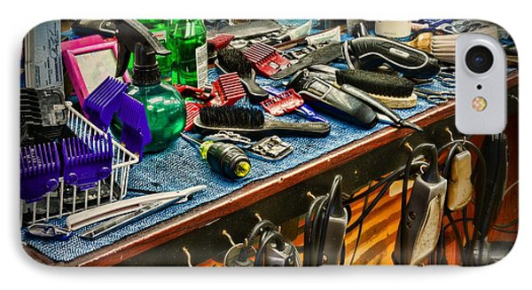 Barbershop - So Many Tools	 IPhone Case by Paul Ward