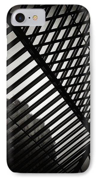 Barbican Grids IPhone Case by Lenny Carter