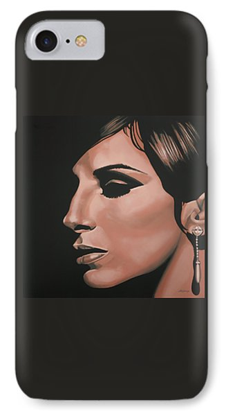 Barbra Streisand IPhone Case by Paul Meijering