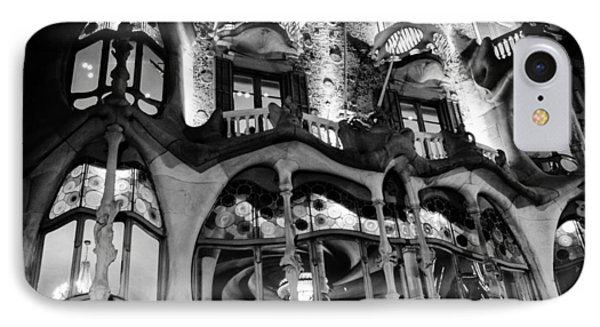 Barcelona - Casa Batllo IPhone Case by Andrea Mazzocchetti