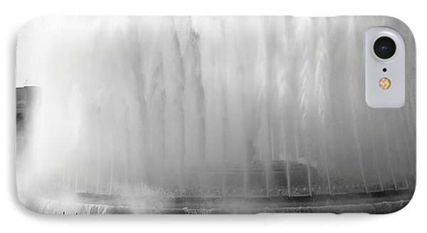 Barcelona Water Fountain Joy IPhone Case by Haleh Mahbod