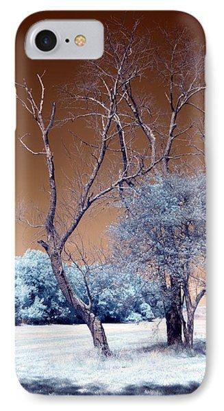 Bare Tree Cahokia Phone Case by Bob Pomeroy