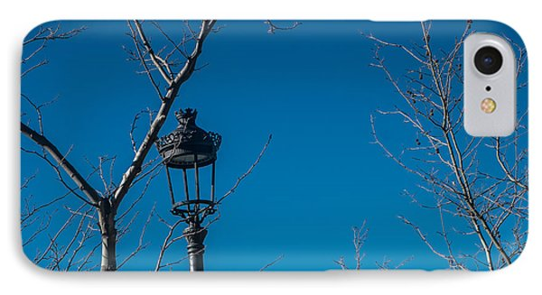 Bare Trees Blue Sky IPhone Case by Piet Scholten