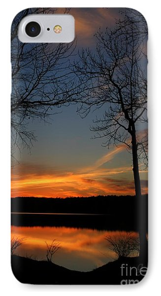 Bare Trees Vertical IPhone Case by Geri Glavis