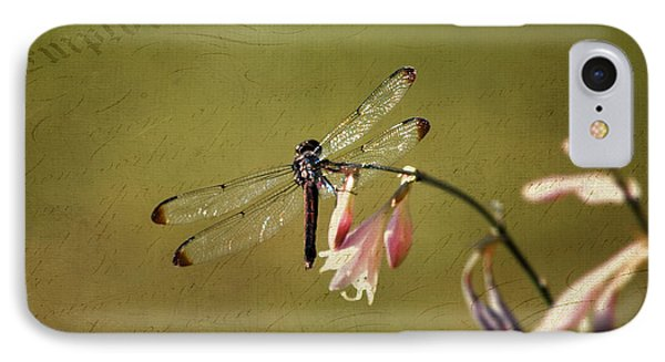 IPhone Case featuring the photograph Barely Hanging On by Linda Segerson