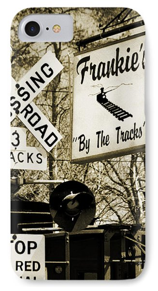IPhone Case featuring the photograph Barhopping At Frankies 2 by Lee Craig
