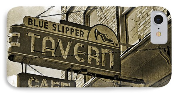 IPhone Case featuring the photograph Barhopping At The Blue Slipper 2 by Lee Craig
