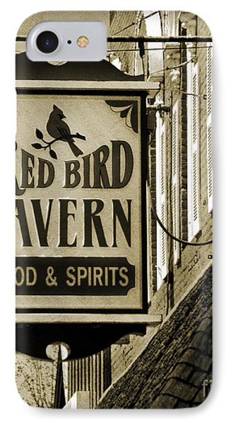 IPhone Case featuring the photograph Barhopping At The Red Bird 2 by Lee Craig