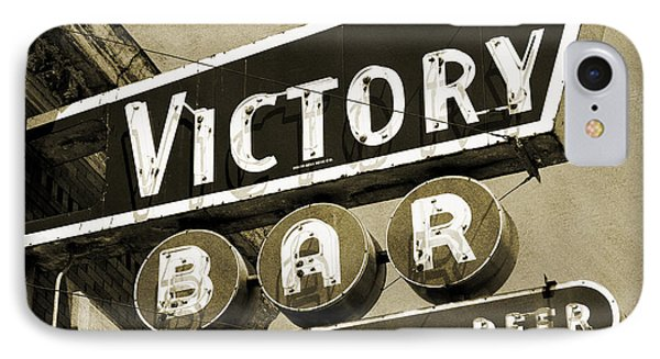 IPhone Case featuring the photograph Barhopping At The Victory 2 by Lee Craig