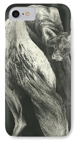 Bark Phone Case by Rebecca Bourke