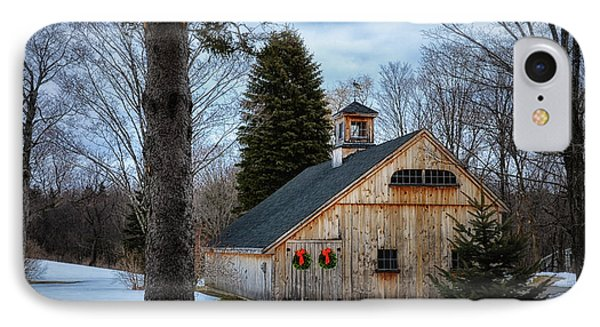 Barn 7078 IPhone Case by Tricia Marchlik