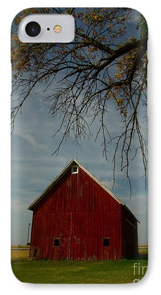 Barn And Box Elder IPhone Case by Tim Good