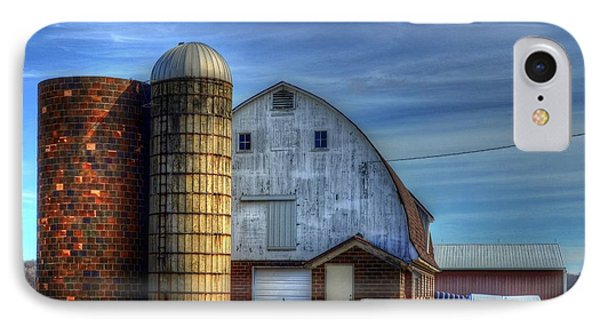 Barn And Silos IPhone Case