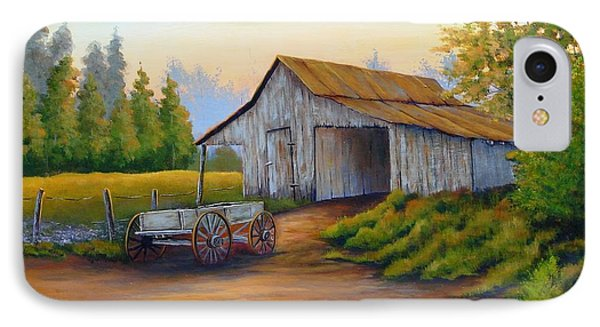 Barn And Wagon IPhone Case