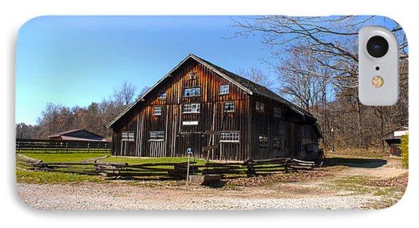 Barn At Billie Creek Village IPhone Case by Thomas Sellberg