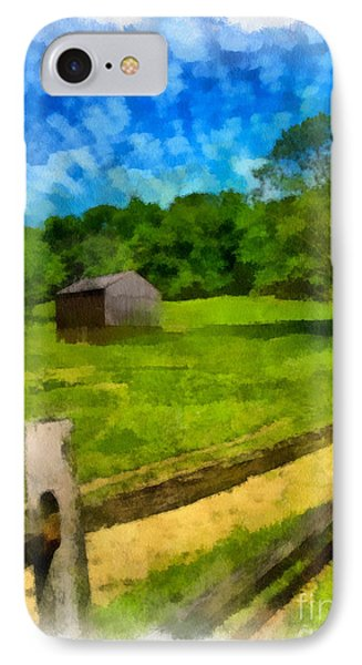 Barn At Hartwood Acres Phone Case by Amy Cicconi