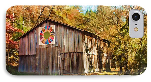 Barn At Red River Gorge Phone Case by Lena Auxier