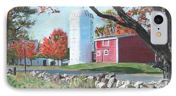 Barn At Warren Center IPhone Case