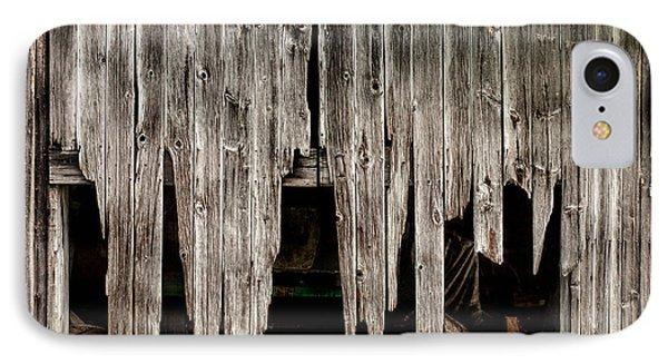 Barn Boards - Rustic Decor Phone Case by Gary Heller