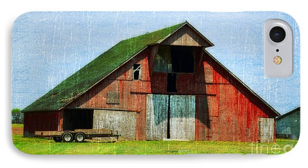 Barn - Central Illinois - Luther Fine Art IPhone Case by Luther Fine Art