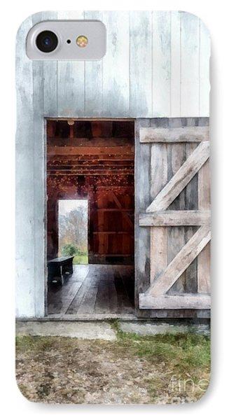 Barn Dance IPhone Case by Edward Fielding
