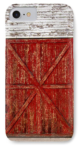 Barn Door IPhone Case by Fran Riley