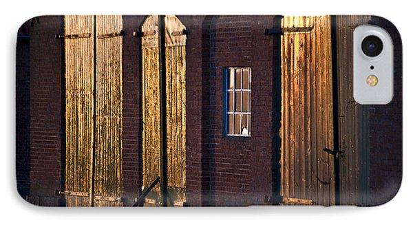 Barn Door Lighting Phone Case by Heiko Koehrer-Wagner
