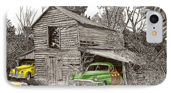 Barn Finds Classic Cars Phone Case by Jack Pumphrey