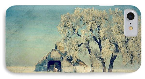 Winter Time Blues IPhone Case by Julie Hamilton