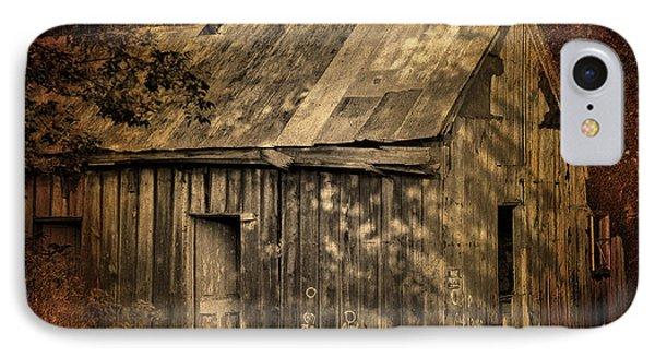 Barn Grunge IPhone Case by Greg Sharpe