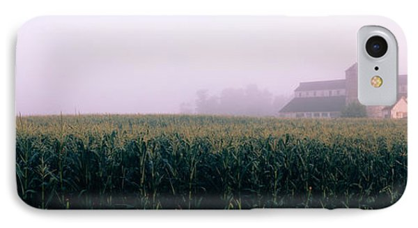 Barn In A Field, Illinois, Usa IPhone Case