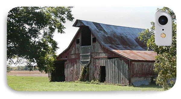 Barn In Missouri IPhone Case