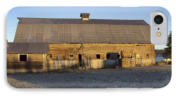 Barn In Rural Washington IPhone Case