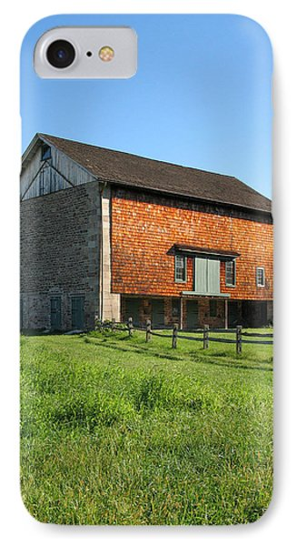 Barn In The Field IPhone Case