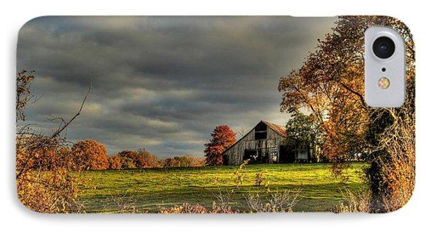 Barn Landscapes  IPhone Case by Thomas Danilovich