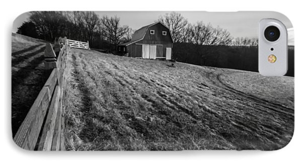 Barn On A Hill IPhone Case by Sven Brogren