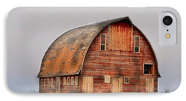 Barn On The Hill IPhone Case by Bonfire Photography