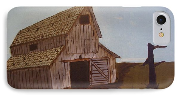 Barn On The Hill Phone Case by Keith Nichols