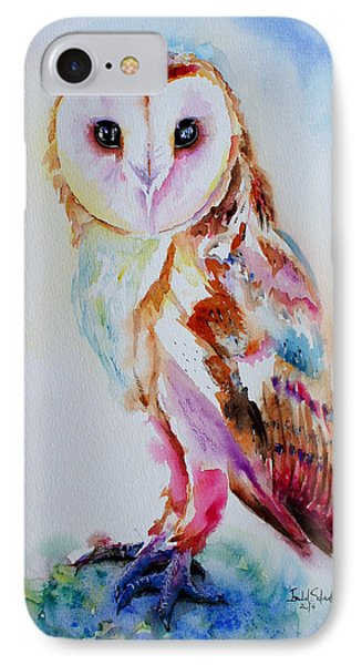 Barn Owl IPhone Case by Isabel Salvador