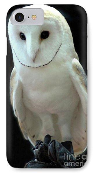 Barn Owl. Phone Case by Kathleen Struckle