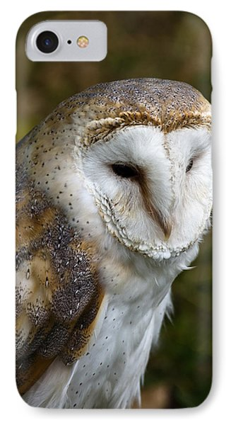Barn Owl IPhone Case by Scott Carruthers