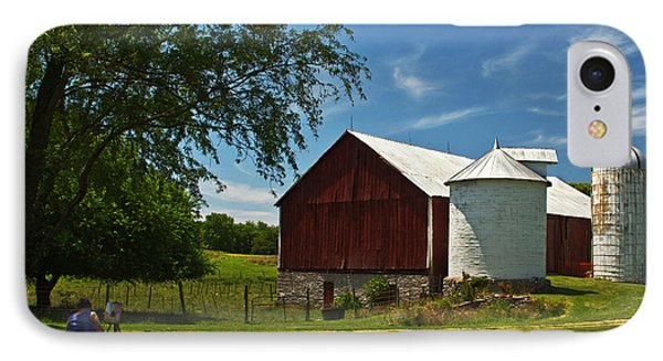 Barn Painter IPhone Case