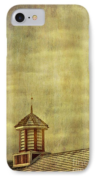 Barn Rooftop With Weather Vane IPhone Case