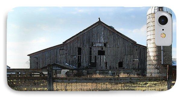 Barn - Waupaca County Wisconsin IPhone Case by David Blank