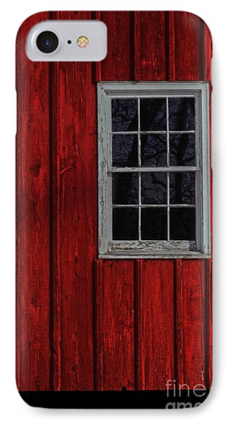 IPhone Case featuring the photograph Barn Window by Debra Fedchin
