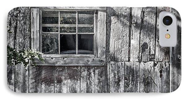 Barn Window Phone Case by Joan Carroll