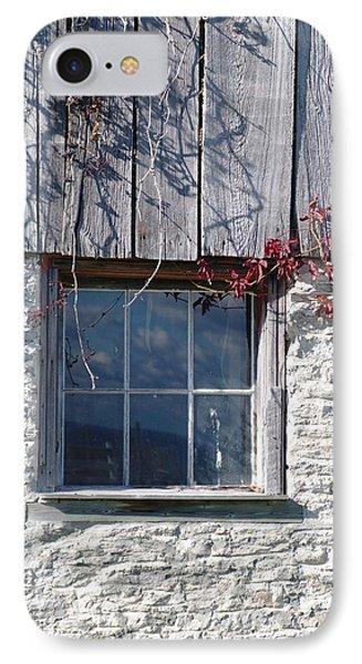 Barn Window Phone Case by Sheila Byers