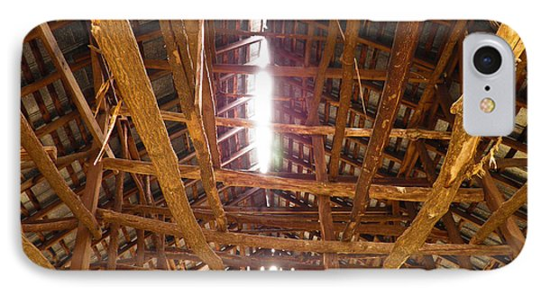IPhone Case featuring the photograph Barn With A Skylight by Nick Kirby
