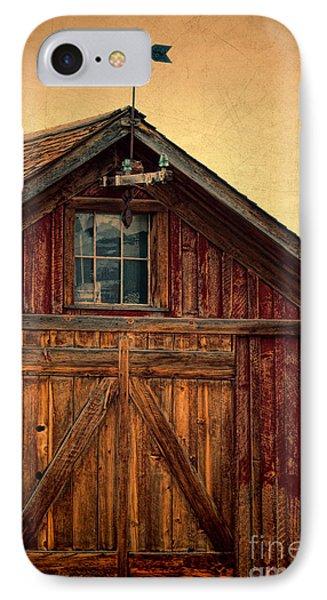 Barn With Weathervane Phone Case by Jill Battaglia